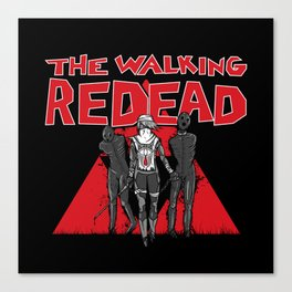The Walking Redead Canvas Print