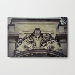 Mother's of Mercy Architectural Detail London England Metal Print