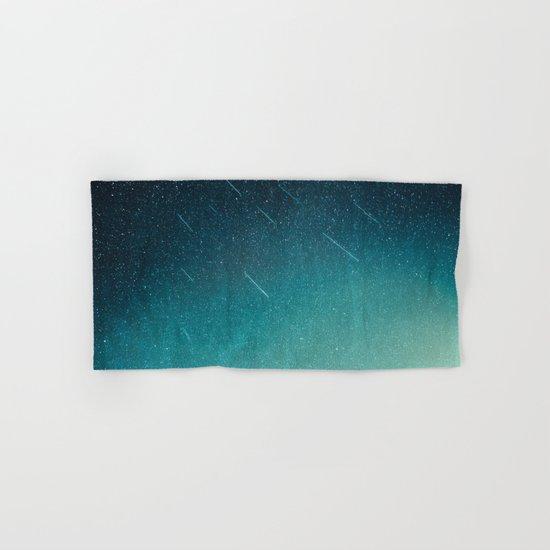 night of falling stars Hand & Bath Towel