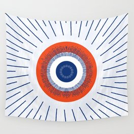 Eye Think Too Much Wall Tapestry