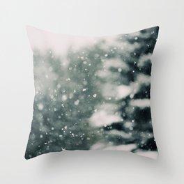 Winter Daydream #3 Throw Pillow