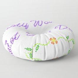 Nasty Women Get Shit Done Floor Pillow