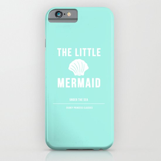Disney Princesses: The Little Mermaid Minimalist iPhone & iPod Case