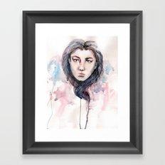 waterheart Framed Art Print