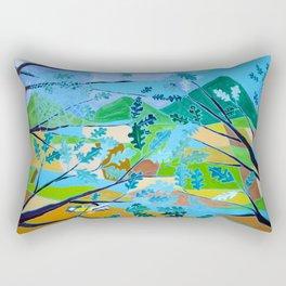 La Cinciallegra (The Yellow Passerine) Rectangular Pillow