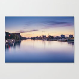 Berlin Sunset Canvas Print