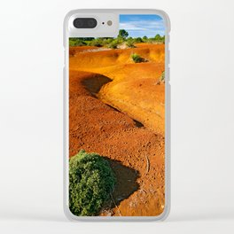Small desert Clear iPhone Case