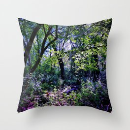 Pleasure of the Pathless Woods Throw Pillow