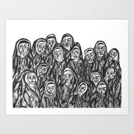 the convent (print) Art Print