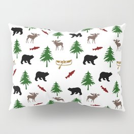 Moose Bear Pillow Sham