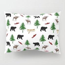 Moose Bear Pillow Sham