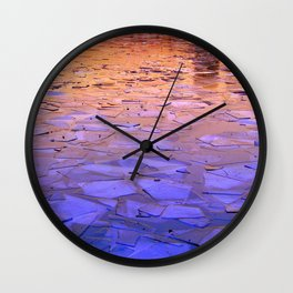 Icy Wall Clock