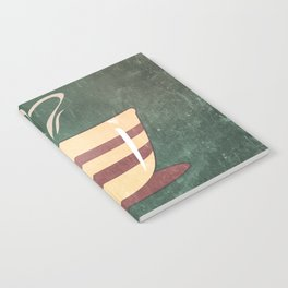 Coffee is love illustration Notebook