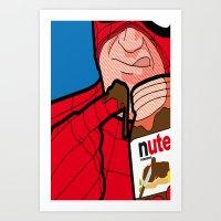 secret life Art Prints featuring secret life by eatpersonality