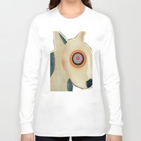 bull terrier Long Sleeve T-shirts featuring bull terrier days by bri.buckley