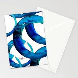Enso Of Zen No. 20 by Kathy Morton Stanion Stationery Cards