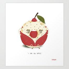 Apple Donut Art Print