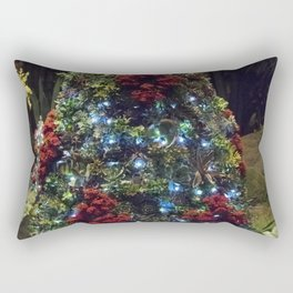 Longwood Gardens Christmas Series 105 Rectangular Pillow