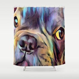 French Bulldog 4 Shower Curtain