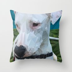 Rocky Dog Throw Pillow