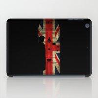 221b iPad Cases featuring Sherlock Holmes door 221b by BomDesignz