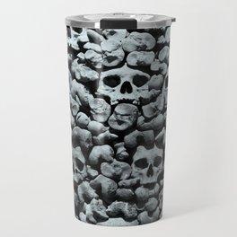 Wall of Remains B'n'W Travel Mug