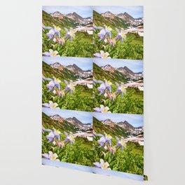 HIGH COUNTRY WILDFLOWERS COLORADO COLUMBINE MOUNTAIN FLOWER Wallpaper