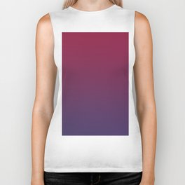 DESTINATION - Minimal Plain Soft Mood Color Blend Prints Biker Tank