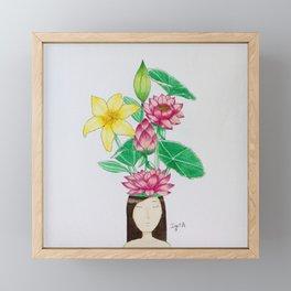Bloom 3 Framed Mini Art Print