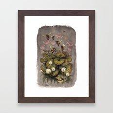 Bumblebees Framed Art Print