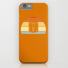 Cucumber Pickle Pickled gherkin Retro iPhone Case