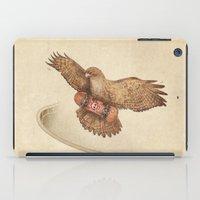 hawk iPad Cases featuring Hawk by Terry Fan