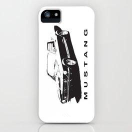 Mustang Design iPhone Case