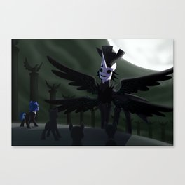 Versus Nyx Avatar Canvas Print