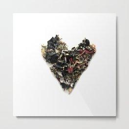 Heart Paint 2 Metal Print