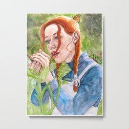 Anne of Green Gables Metal Print
