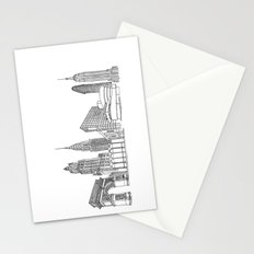 NYC Landmarks by the Downtown Doodler Stationery Cards