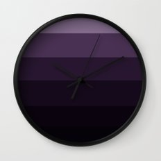 Purple Haze Ombre Wall Clock