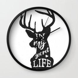 In my secret life Wall Clock