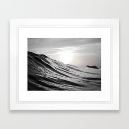 Motion of Water Framed Art Print