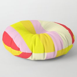 Bold Color - RED, YELLOW, AND PINK Floor Pillow