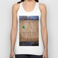 brasil Tank Tops featuring THOTH BRASIL 2014 by Dozzo