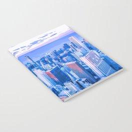 Blue Chicago Skyline Notebook