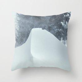 Snowdrifts 1 Throw Pillow