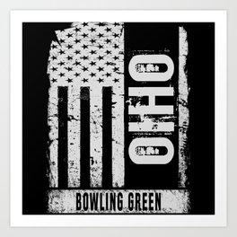 Bowling Green Ohio Art Print