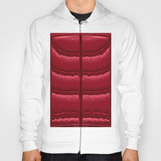 Abstract Red Quilt    Hoody
