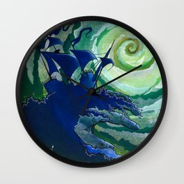 Rage Against Poseidon Wall Clock