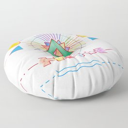 PowerLines 18 Floor Pillow