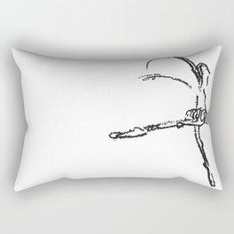 Bailarina Crayola Rectangular Pillow