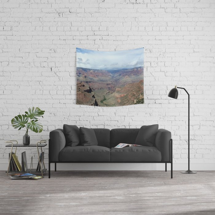 Majestic Grand Canyon Photo - Space to Breathe Wall Tapestry